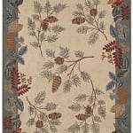 Wilderness Foliage Area Rug - Large