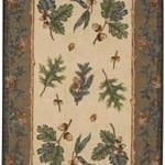 Oak and Pine Area Rug - Large