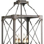 Large Scale Industrial Rustic Pendant Light