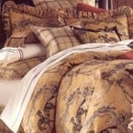 Classic Equestrian Bed Set - Queen Size