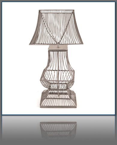 Industrial Mountain Modern Wire Lamp