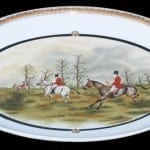 Fox Hunt Porcelain Platter