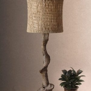 Tall Driftwood Table or Console Lamp