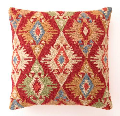 Herati Kilim Hand Hooked Pillow