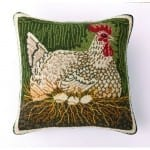 Nesting Hen Pillow