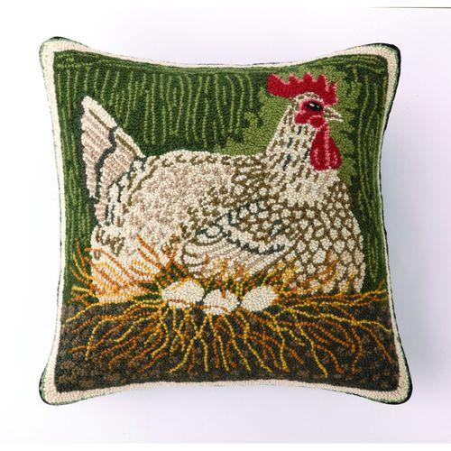 Nesting Hen Pillow