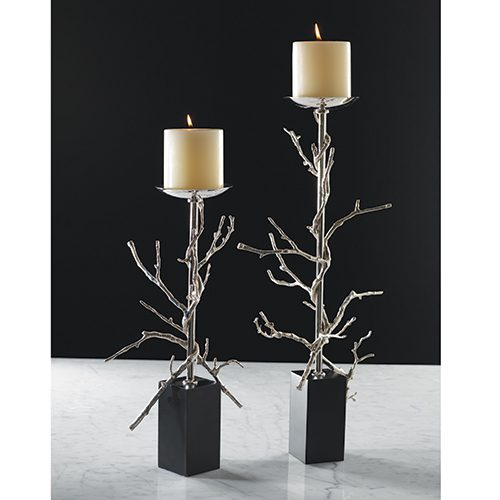 Mountain Modern Twig Candlestick - Large