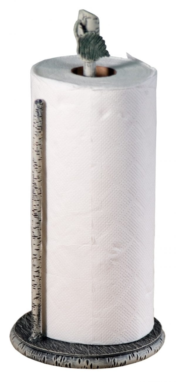 Handmade Iron Paper Towel Holder