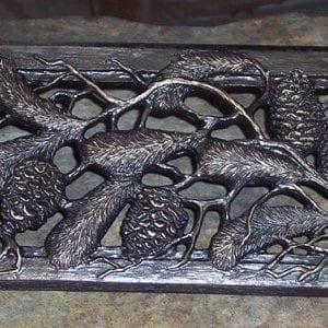 metal louver for bronze floor registers