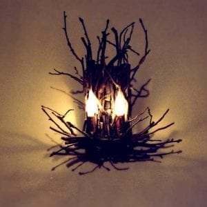 Fox Chase - Natural Branch Wall Sconce