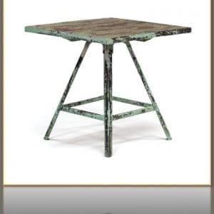 Vintage Hand Painted Artist's Table