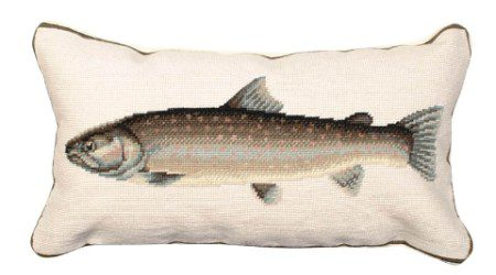 Bull Trout Hand Made Pillow