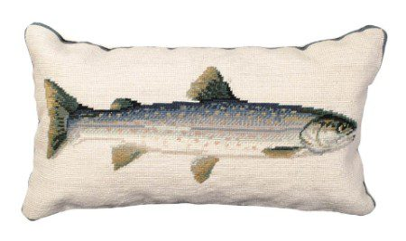 Dolly Varden Trout Pillow