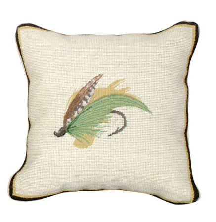 Green Highlander Fly Pillow