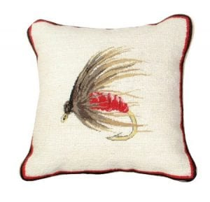 Hackle Fly Pillow
