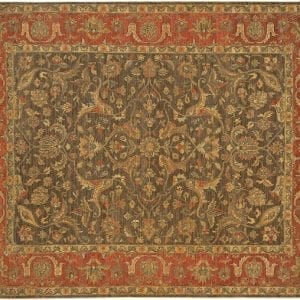 Alamak Hand Knotted Area Rug - Small Size