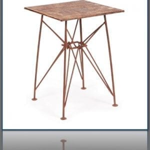 Copper Pretzel Table