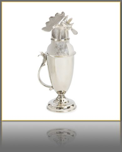 Rooster Martini Shaker